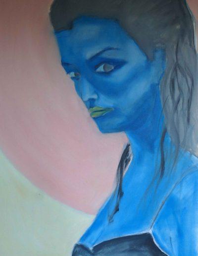 Francini in Blue